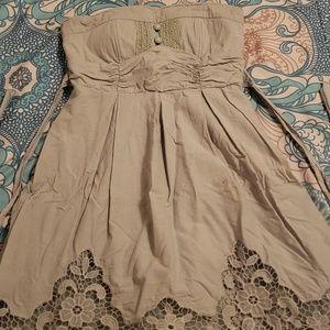 Short teal dress